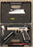 CZ 75 Pistole Shadow II SP-01  Kal. 9 mm Luger  Urban Grey