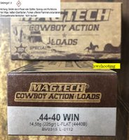 .44-40 Win.  Magtech Blei FK  225 grs  Cowboy Action Shooting   50 Stück