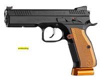 Pistole CZ 75 Shadow II Orange   Kal. 9mm Luger  - Sonderpreis, Lagerräumung -