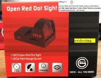 GECO Open Red Dot Sight 2 MOA ohne Schiene