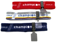 Champion Stirnband Rot  mit Blende